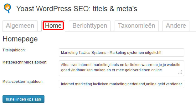 Hoe WordPress SEO by Yoast in te stellen
